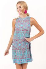 Eleanor Paisley Shift Dress at francesca's