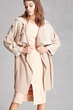 Belted Trench Coat at Forever 21