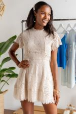 Balynn Lace Dress at francesca's