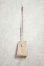 Crossbody Pebbled Bucket Bag at Forever 21