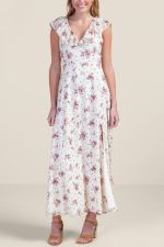 Marcie Floral Maxi Dress at francesca's