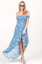 Reese Off The Shoulder Maxi Dress at francesca's