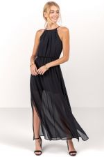 Flawless Solid Maxi Dress at francesca's