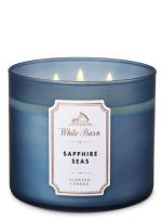 White Barn SAPPHIRE SEAS 3-Wick Candle at Bath & Body Works