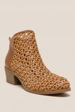 DV by Dolce VIta Koda Basket Weave Ankle Boot at francesca's