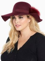 Faux Fur Pom Floppy Hat at Torrid