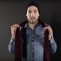 Men: 12 Ways to Wear a Scarf