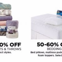 50–60% Off Blankets & Throws & Bedding