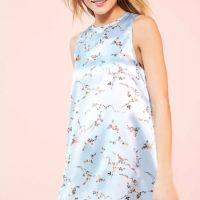 Kimchi Blue Carmine Satin Frock Mini Dress