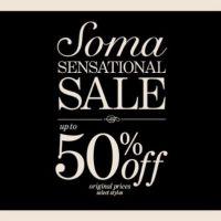 Soma Sensational Sale