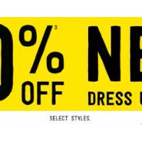 40% Off New Dress Up Styles