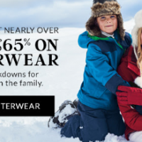 Save Up to 65% on Outerwear