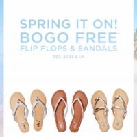 BOGO Free Flip Flops & Sandals