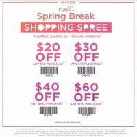 Shopping Spree Coupon