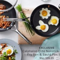 Calphalon Elite Nonstick 3-Piece Set Now Only $79.95