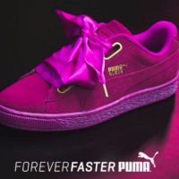 Women's Puma Suede Heart Athletic Shoe