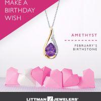 Littman Jewelers Make A Birthday Wish