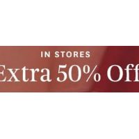 Extra 50% Off All Sale Fashion & Accessories