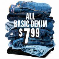 All Basic Denim $7.99