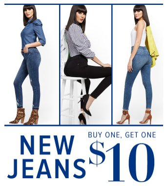 New Jeans Buy One, Get One $10