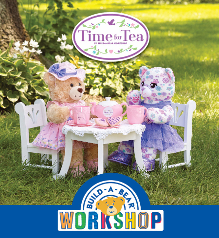 Build-A-Bear Workshop® brings the joy of tea parties back for  fair-weather fun!