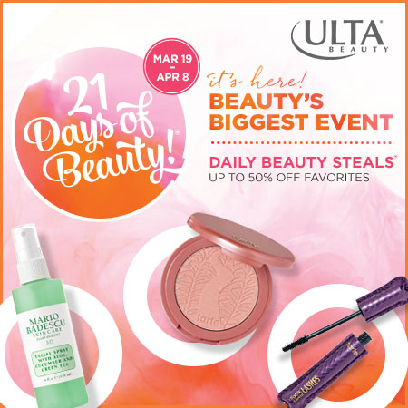 BEAUTY'S BIGGEST EVENT IS HERE!