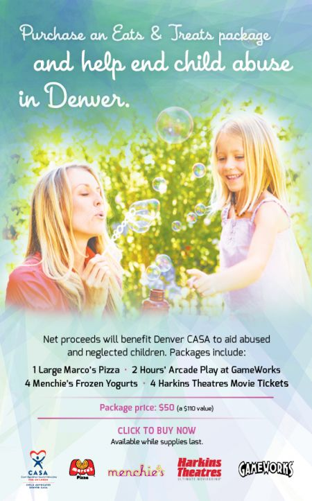 Eats & Treats Packages Help Prevent Child Abuse in Denver!
