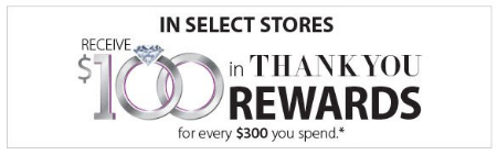 Receive $100 in Thank You Rewards