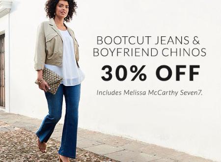 Jeans & Pants 30% Off