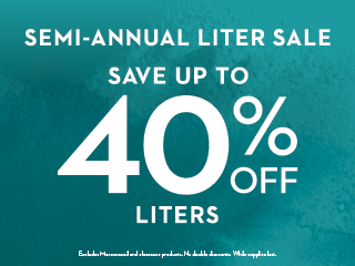 Semi-Annual Liter Sale!