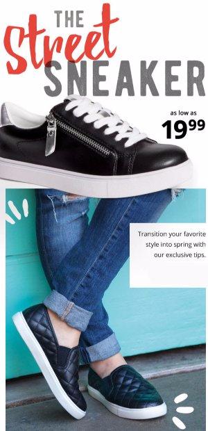 The Street Sneaker as low as $19.99