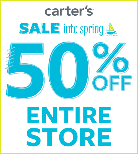 Sale Into Spring 50% Off Entire Store