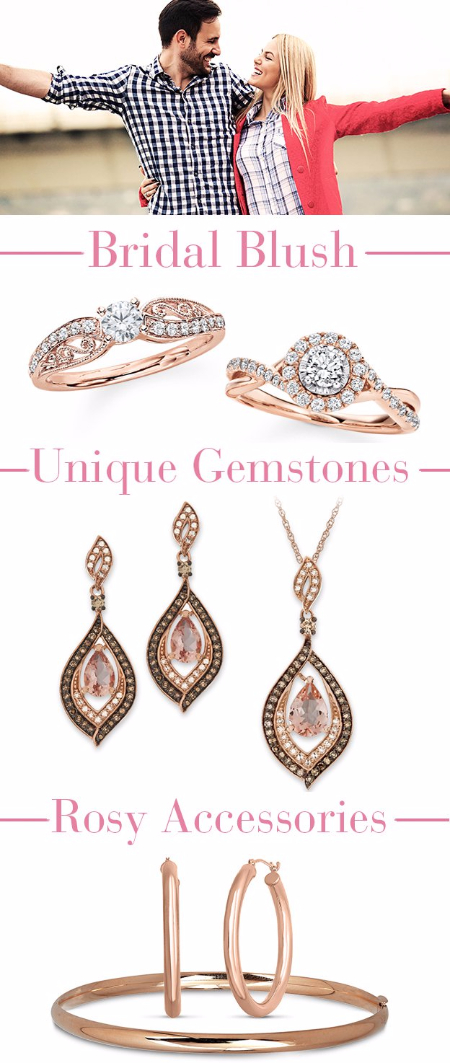 Make Her Blush With Rose Gold Pieces
