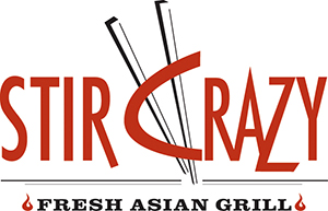 STIR CRAZY Cafe Logo