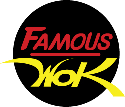 Famous Wok Logo