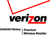 Diamond Wireless Verizon Wireless Premiu Logo