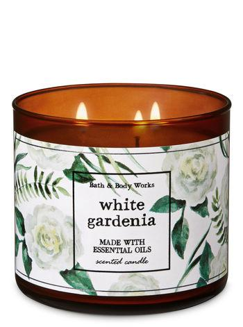WHITE GARDENIA 3-Wick Candle at Bath & Body Works