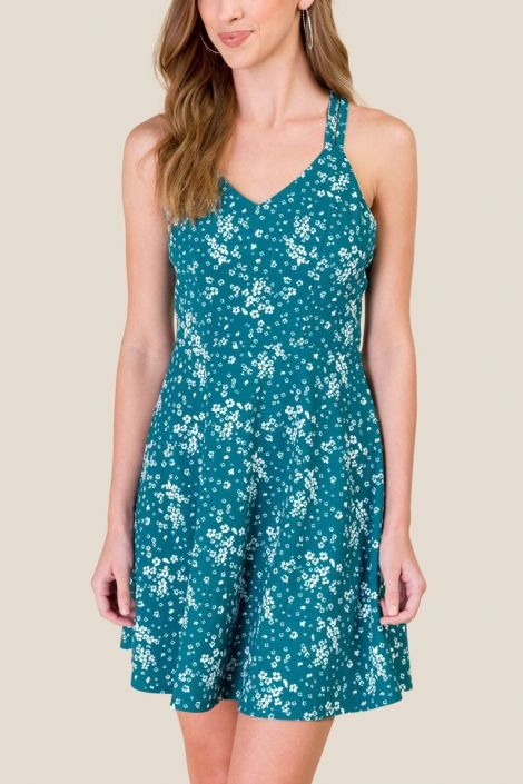 Lana Floral Fit and Flare Dress at francesca's