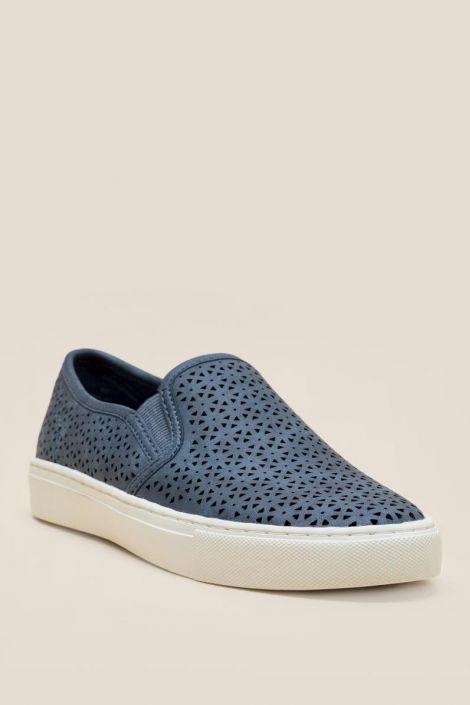Indigo Rd Kalika Distressed Slip On Sneaker at francesca's