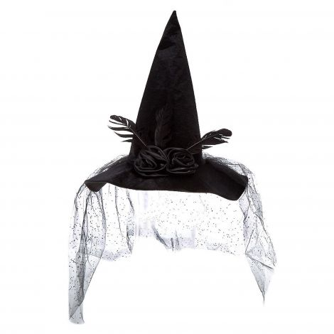 Spider Witch Hat - Black at Claire's