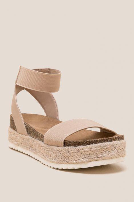 Kimberly Flatform Sandal at francesca's