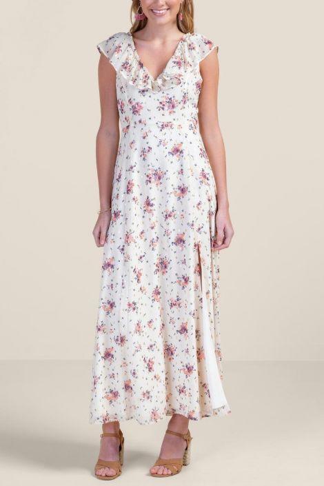 Marcie Floral Maxi Dress at francesca's