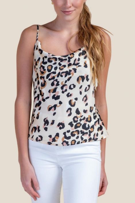 Madelyn Animal Print Tank Top at francesca's