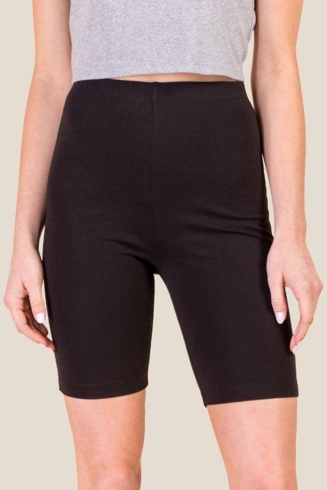 Bailey Knit Biker Shorts at francesca's