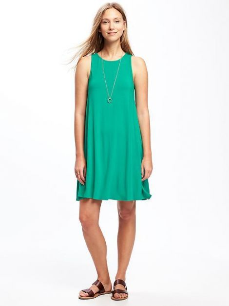 Jersey Swing Dress for Women at Old Navy