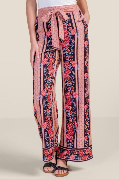 Camille Floral Palazzo Pants at francesca's