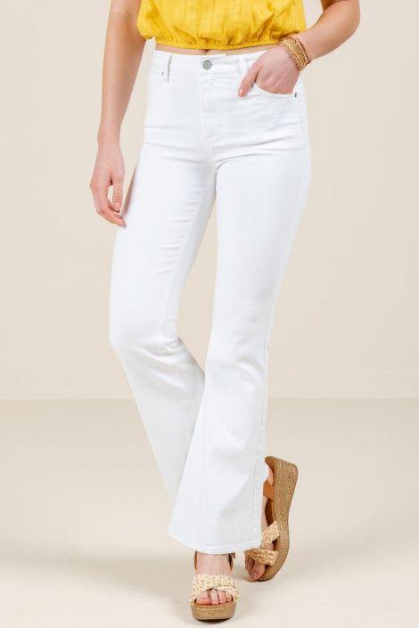 Harper Heritage High Rise Flare Jeans at francesca's