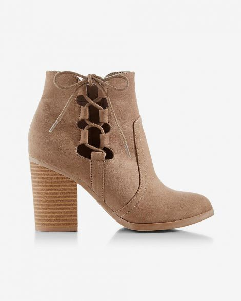 Side-tie Western Bootie at Express