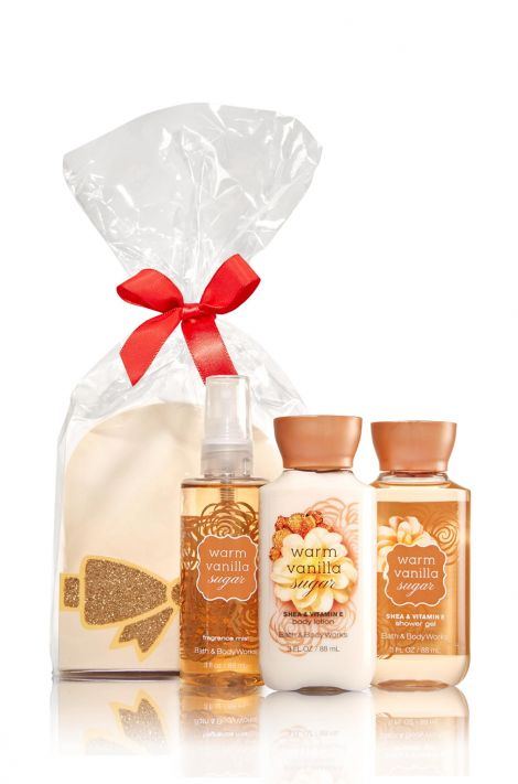 Mini Scents & Sparkle Gift Set WARM VANILLA SUGAR at Bath & Body Works