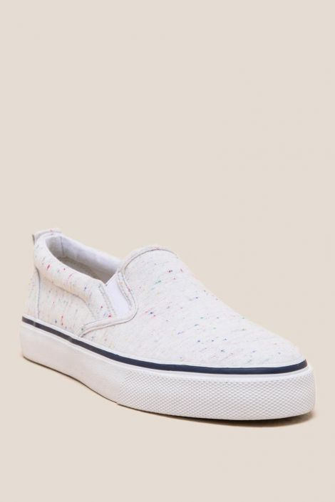 Galvin Speckled Sneaker at francesca's